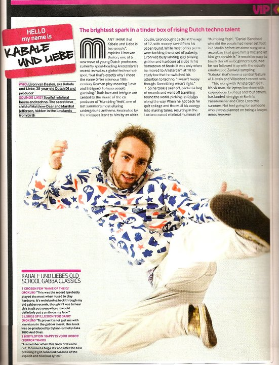 Mixmag Interview 2008